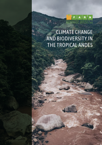 Cover Climate change and biodiversity in the tropical andes